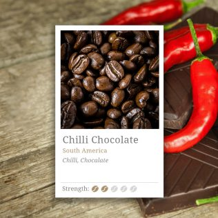 Chilli Chocolate Flavoured Coffee