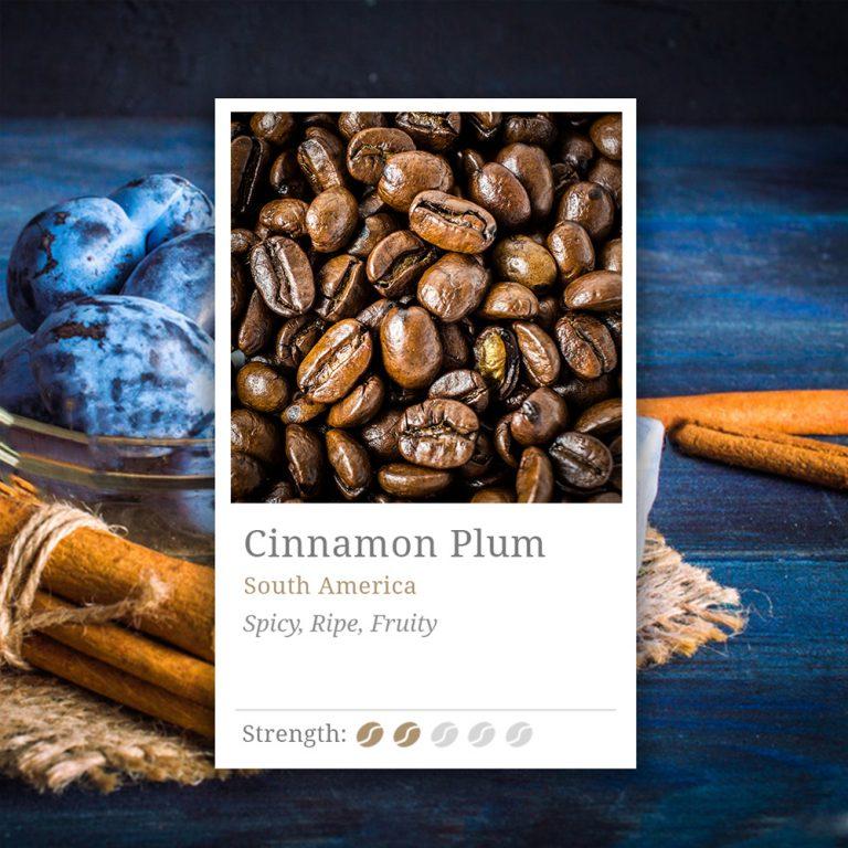 Cinnamon Plum Coffee