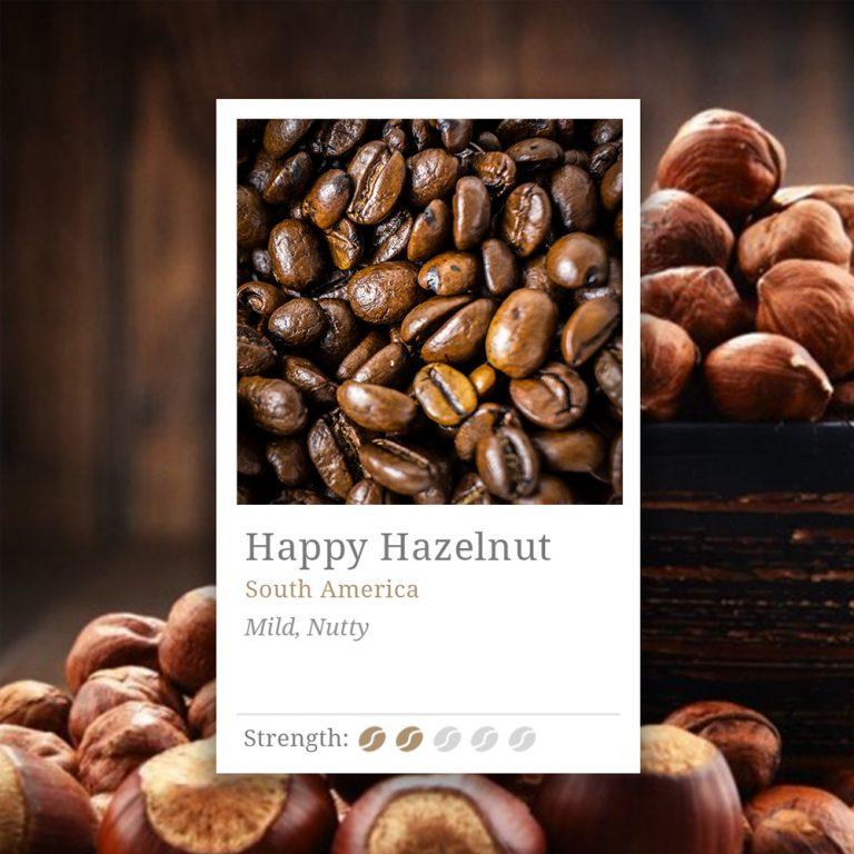Happy Hazelnut Coffee
