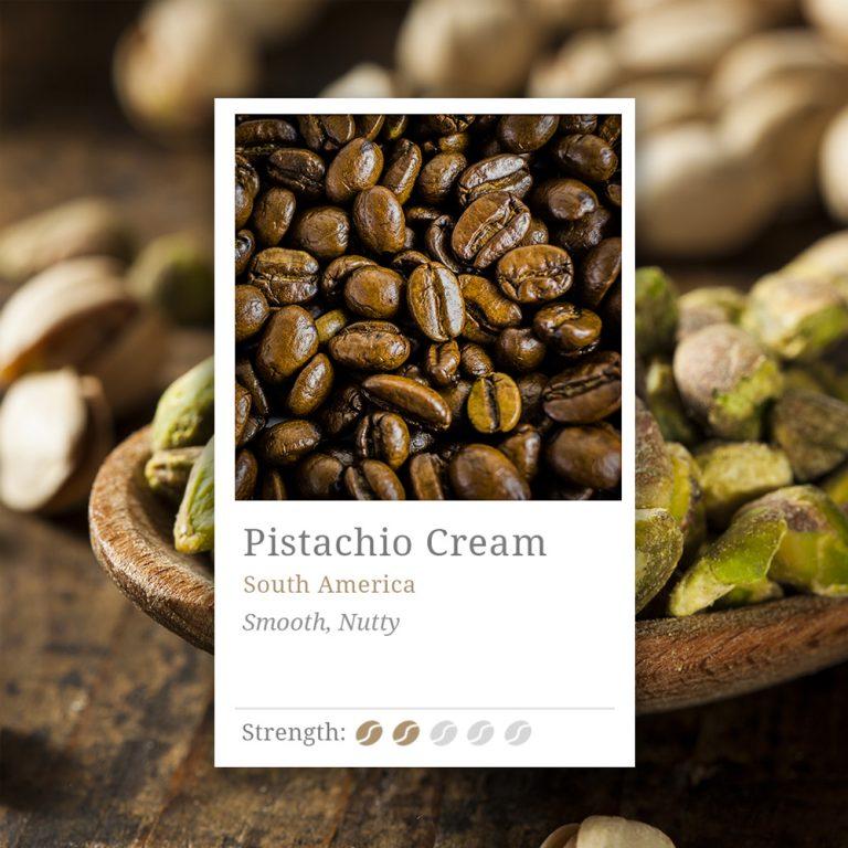 Pistachio Cream Flavoured Coffee