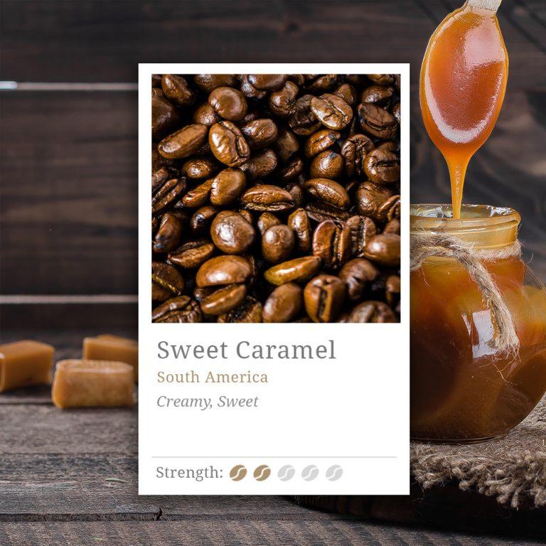 Sweet Caramel Coffee