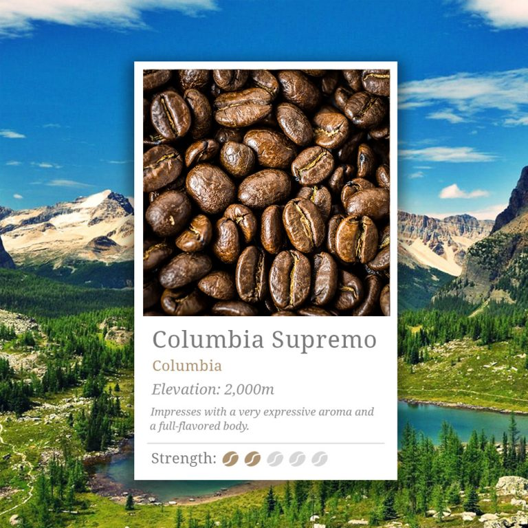 Columbia Supremo Coffee