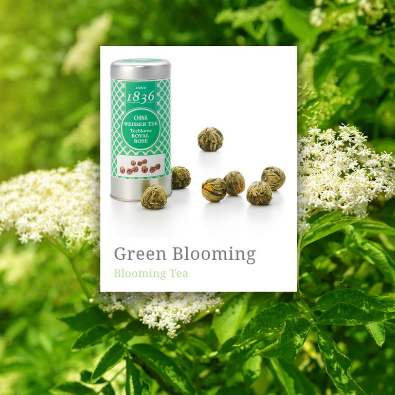 Blooming Green Tea