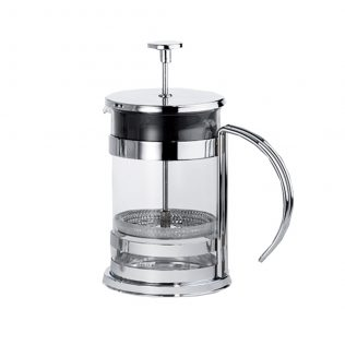 Silver French Press Large