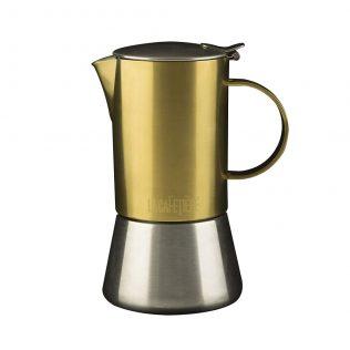 Cafetiere Moka Pot Gold