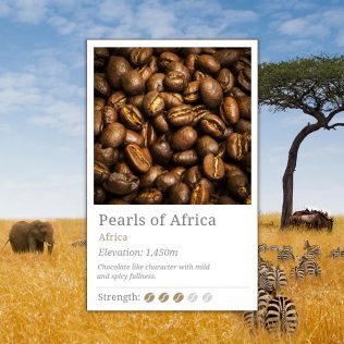 Pearls of Africa Coffee