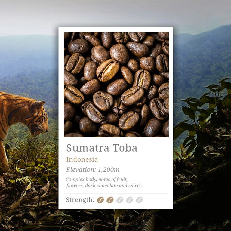 Sumatra Toba Coffee