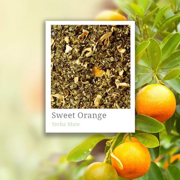 Yerba Mate Sweet Orange