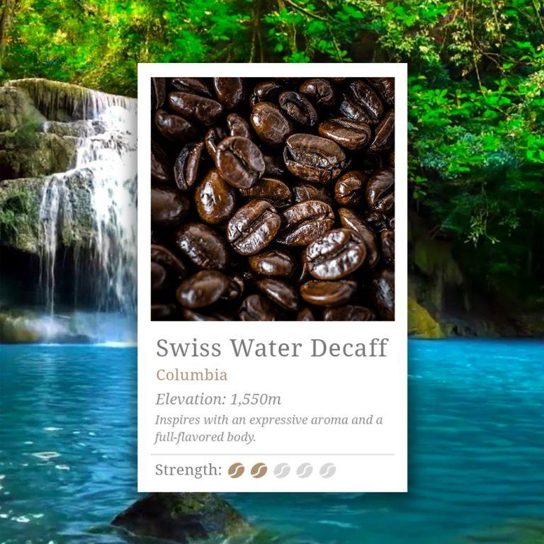 Swiss Water Decaff Coffee