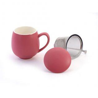 Berry Pink Sarah Tea Cup