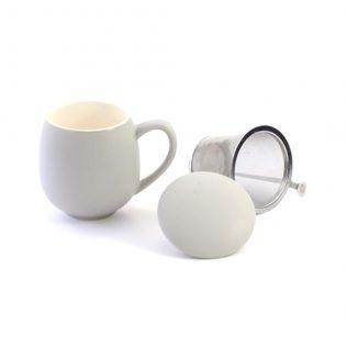 Grey Sarah Tea Cup