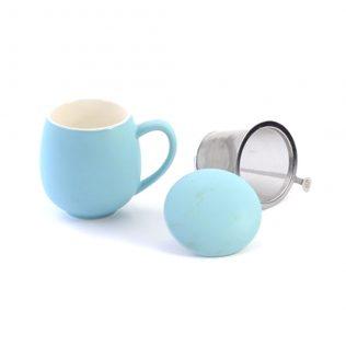Sky Blue Sarah Tea Cup