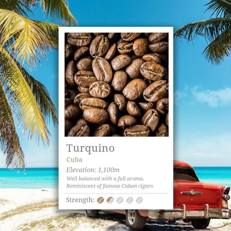 Cuba Turquino Coffee