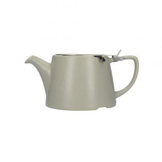 London Pottery Oval Teapot Grey