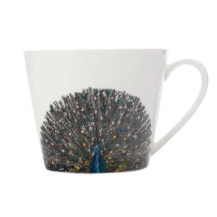 Indian Peacock Squat Mug