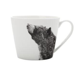 Marini Ferlazzo Black Bear Mug